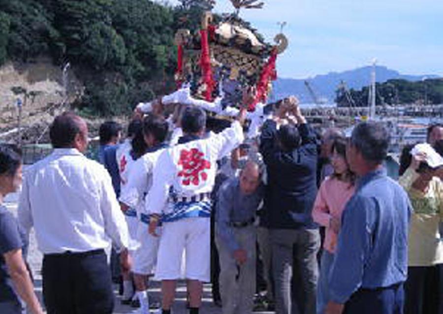 馬島の祭り